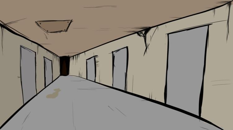 corridor background