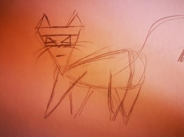 Trianglecat design